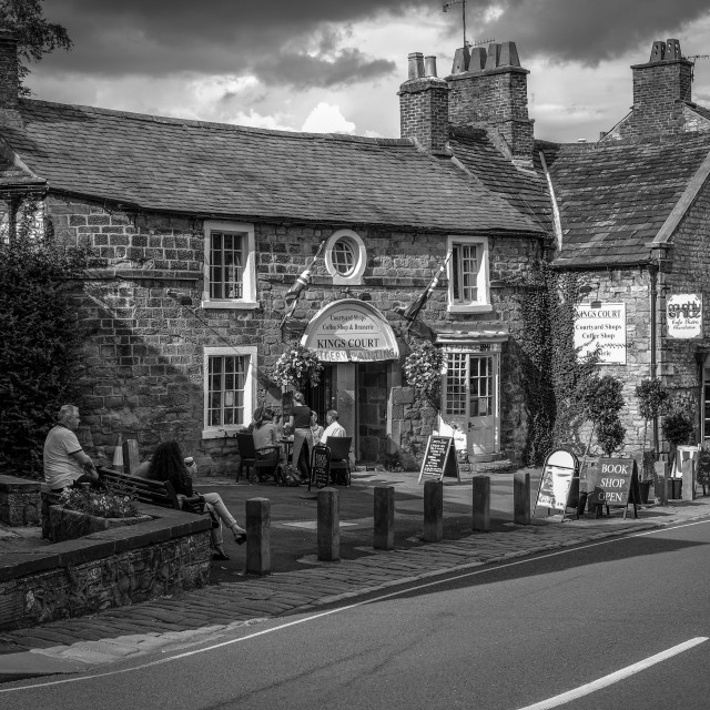 """""""Bakewell,Derbyshire."""" stock image"""