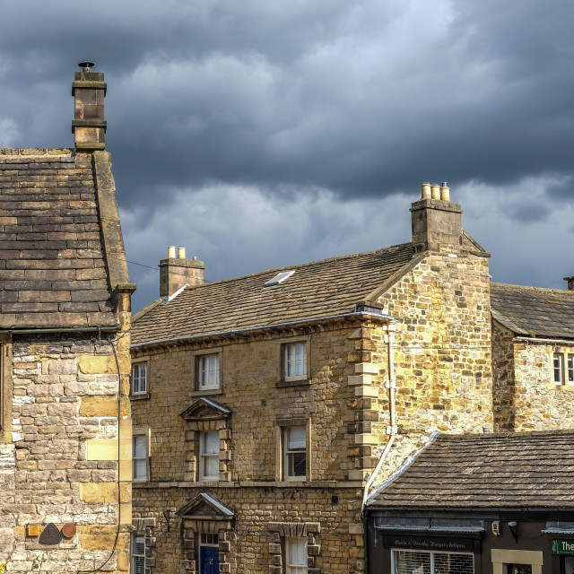 """""""Bakewell,Derbyshire ."""" stock image"""
