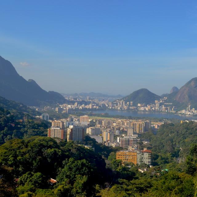 """""""Lagoa Views"""" stock image"""
