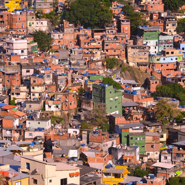 """Favela Colours"" stock image"