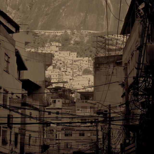 """Rocinha Streets"" stock image"