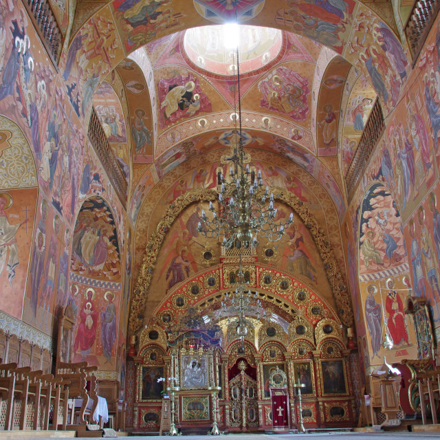 """Orthodox church interior"" stock image"