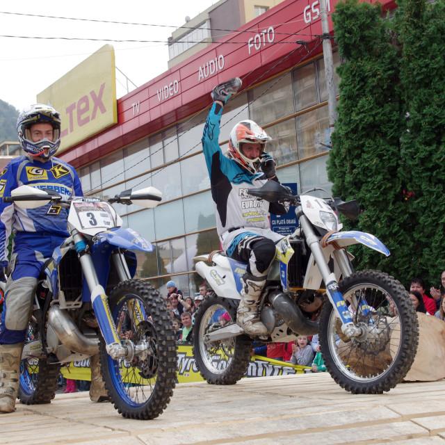 """""""Best enduro riders"""" stock image"""