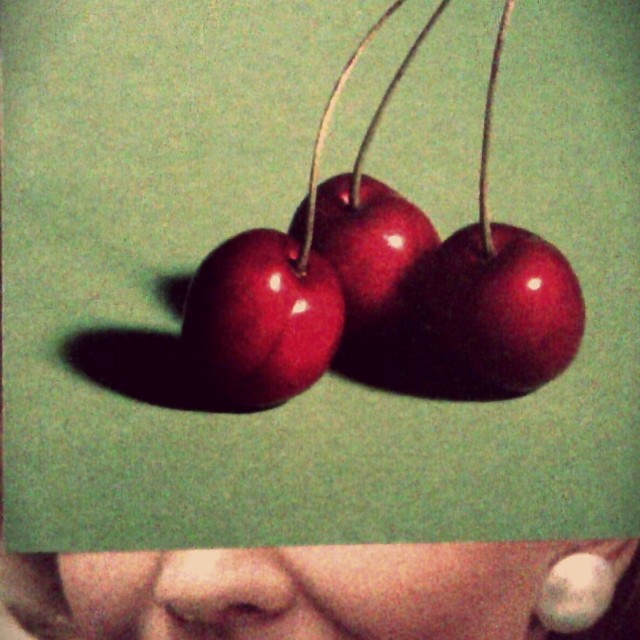 """Cherry-face"" stock image"