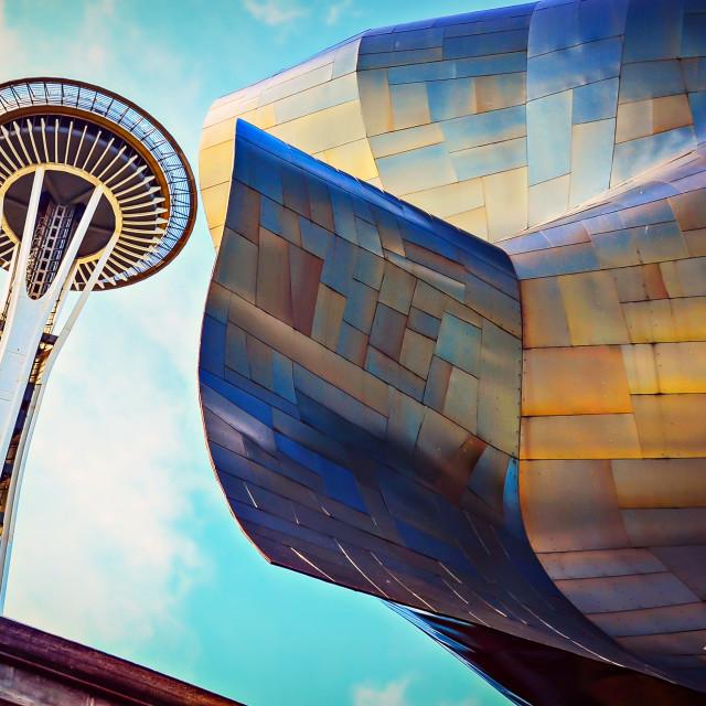 """Seattle City Art"" stock image"