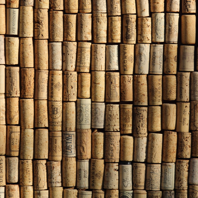 """""""cork collection"""" stock image"""