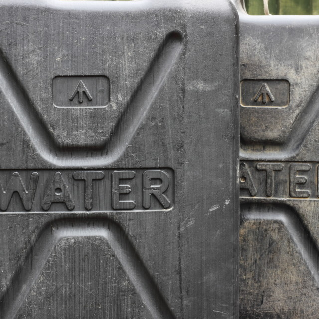 """""""water carriers"""" stock image"""