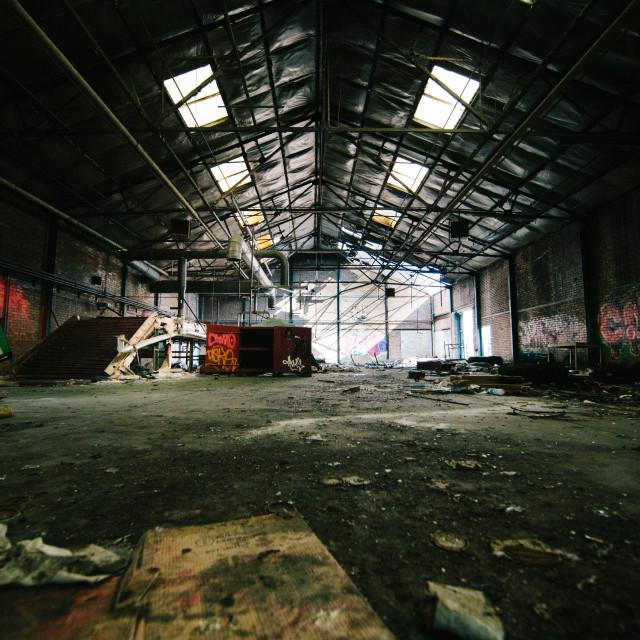 """Warehouse"" stock image"