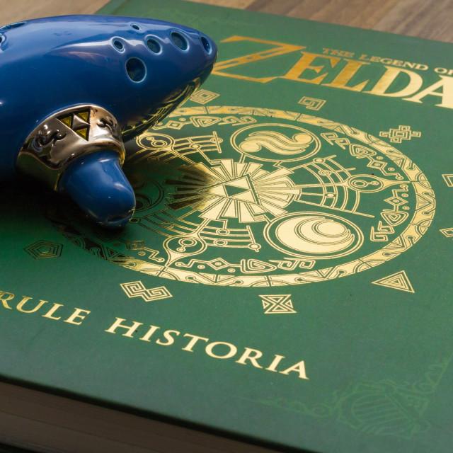 """Legend of Zelda: Hyrule Historia"" stock image"