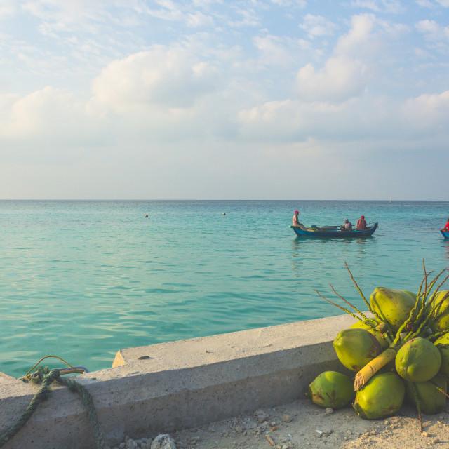 """Rasdhoo, Maldives"" stock image"