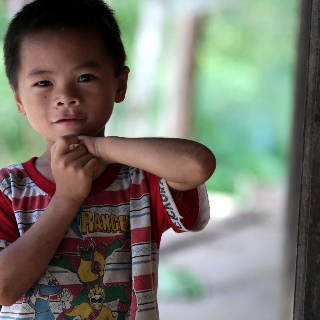 """A little boy"" stock image"