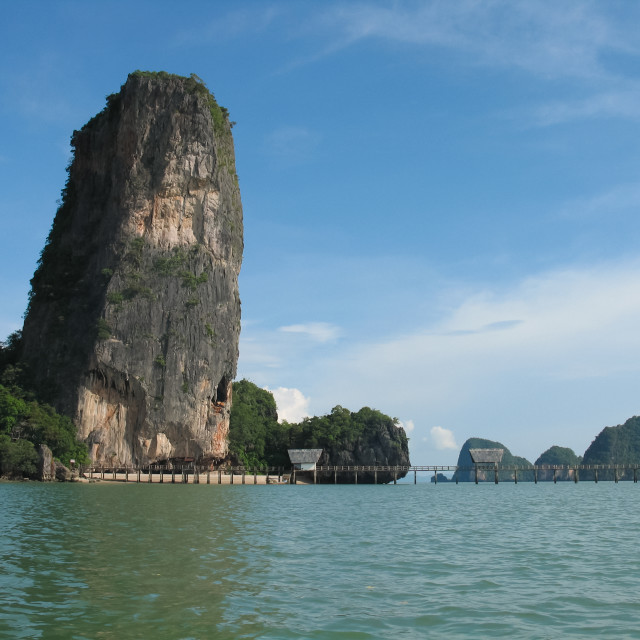 """James Bond Island - Phang Nga bay, Thailand"" stock image"