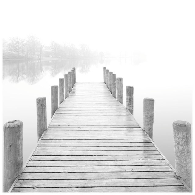 """""""Ethereal Jetty"""" stock image"""