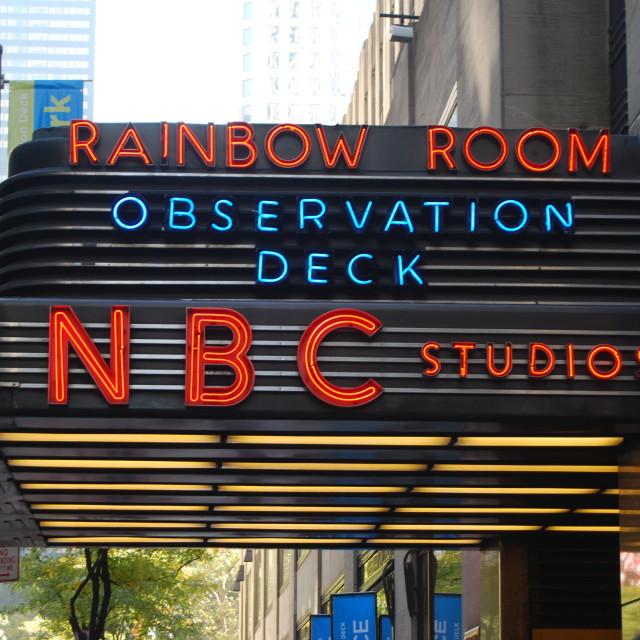 """""""NBC Studios"""" stock image"""