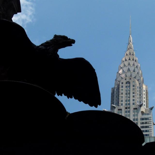 """Chrysler Building NY"" stock image"