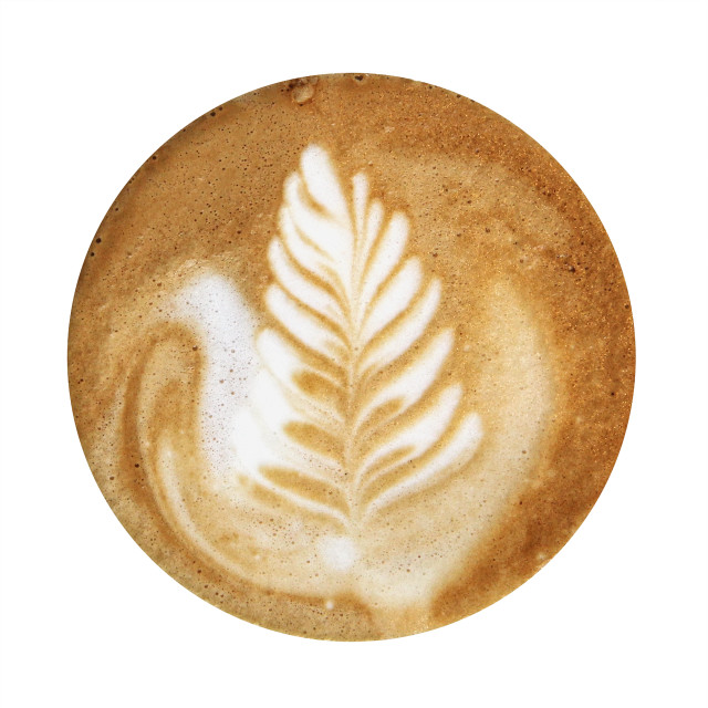 """Coffee Foam"" stock image"