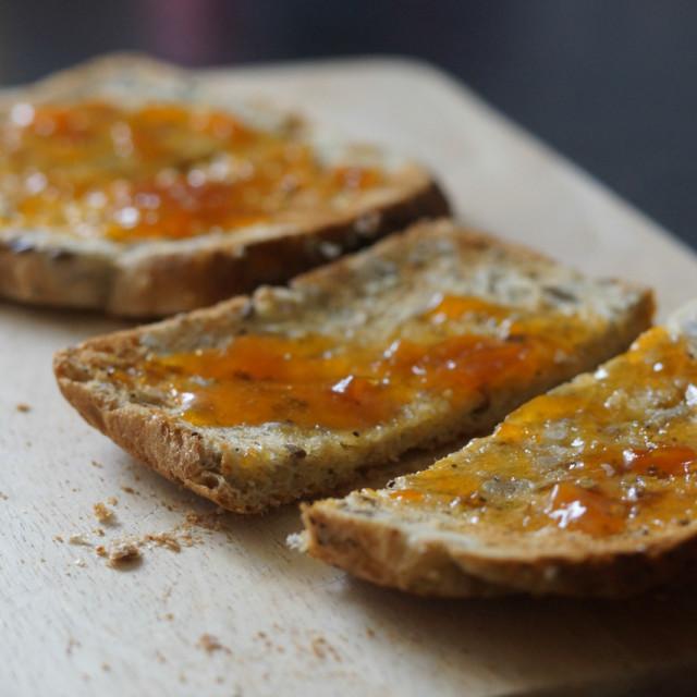 """I Marmalade you some Toast"" stock image"