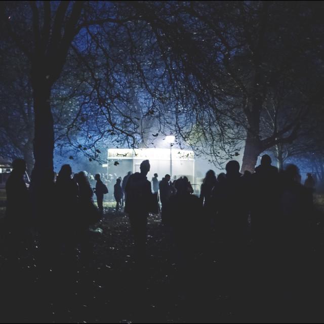 """Night Festival"" stock image"