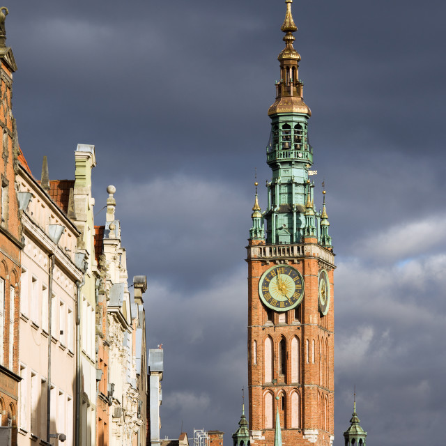 """""""Gdansk Old Town"""" stock image"""
