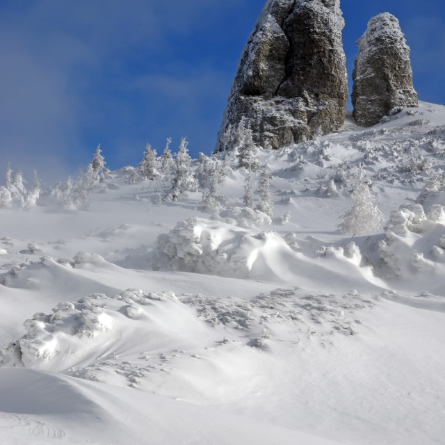 """Snow"" stock image"