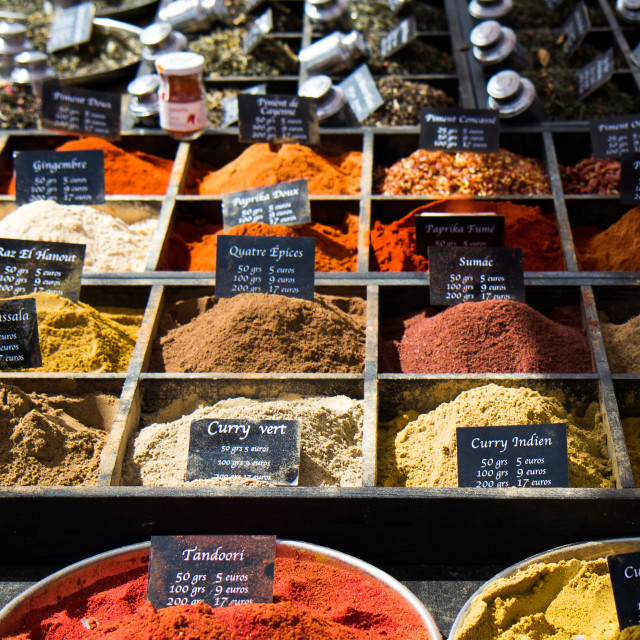 """Spices"" stock image"