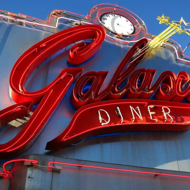 """""""Galaxy Diner"""" stock image"""