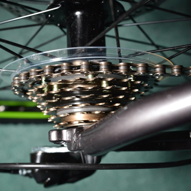 """Bicycle gears and chain."" stock image"
