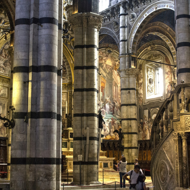 """""""Siena Cathedral"""" stock image"""