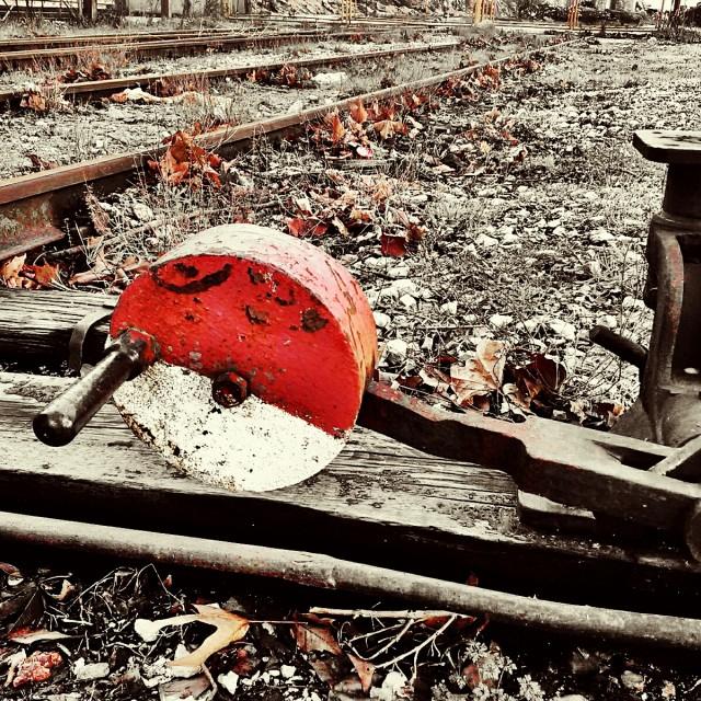 """railway switch"" stock image"