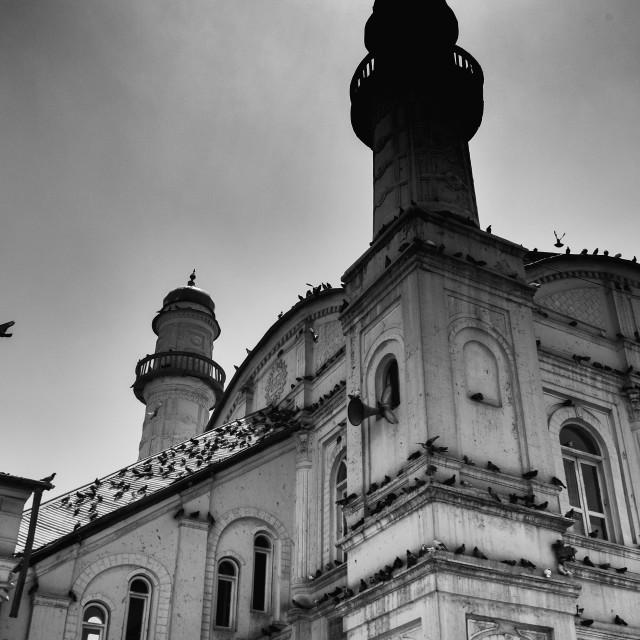 """Shah Do Shamshera Mosque Kabul"" stock image"