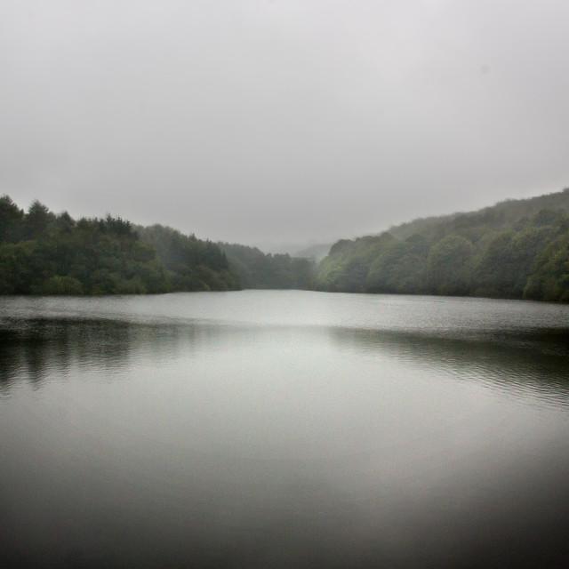 """Linacre Reservoir"" stock image"