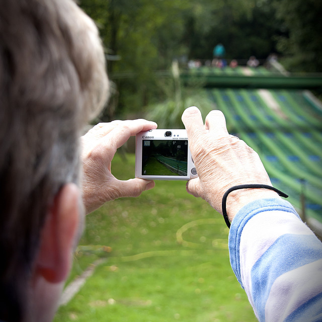 """""""Taking pictures"""" stock image"""