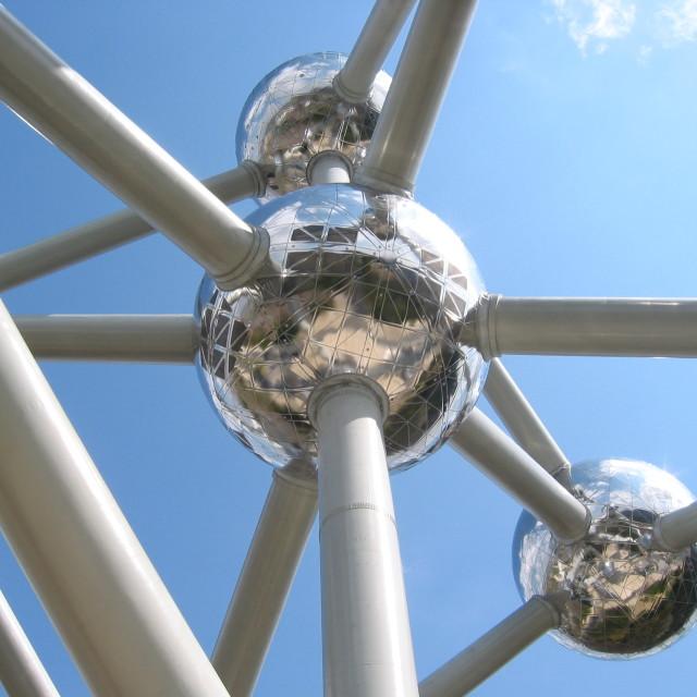 """""""Atomium Brussels"""" stock image"""