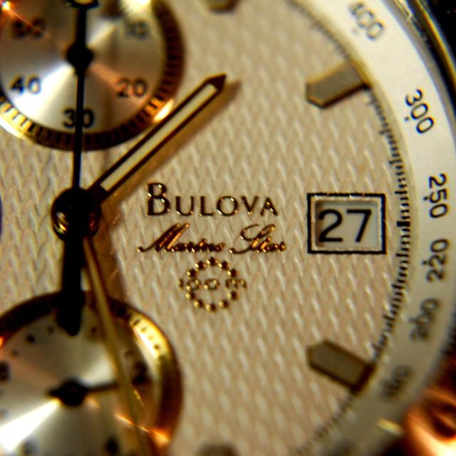 """Bulova Time"" stock image"
