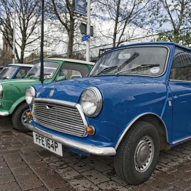 """Old minis"" stock image"