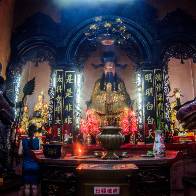"""The Jade Emperor Pagoda"" stock image"