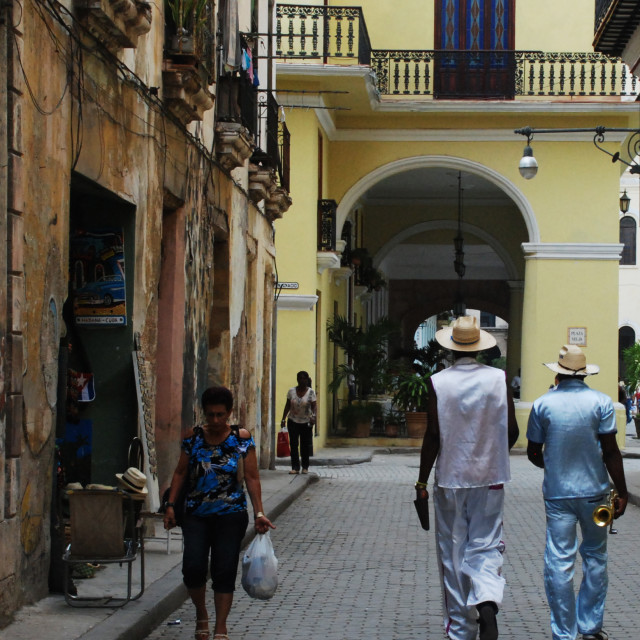 """Cuban Band"" stock image"