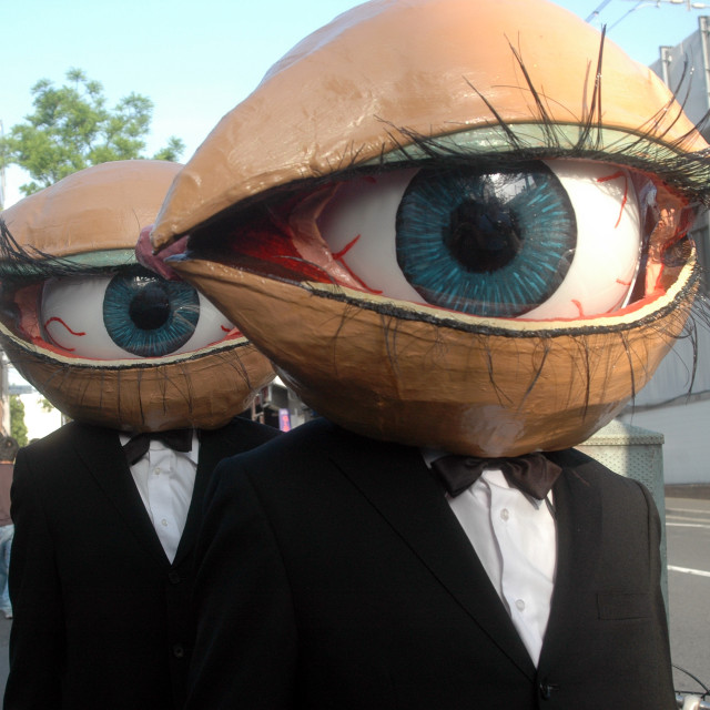 """Eyeball men"" stock image"