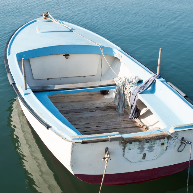 """Little boat"" stock image"
