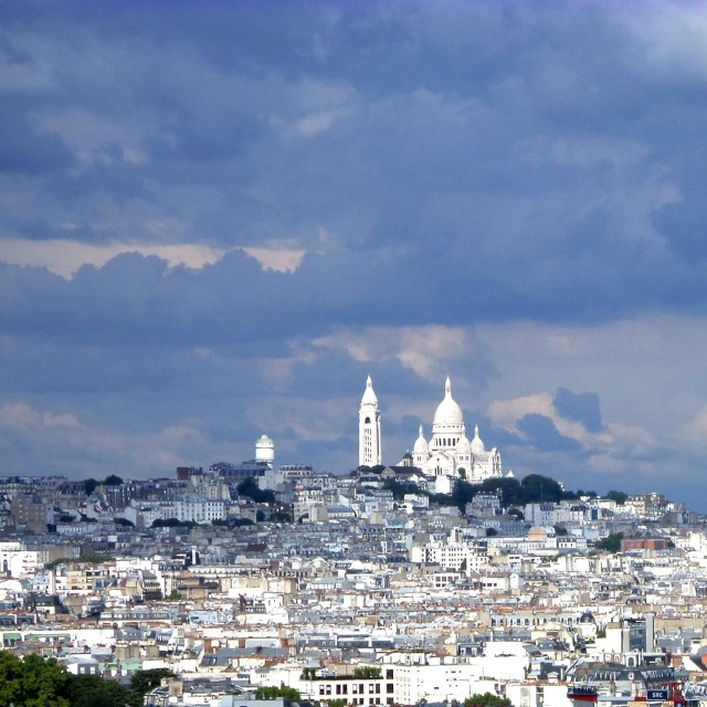 """Sacre Coeur, Paris"" stock image"