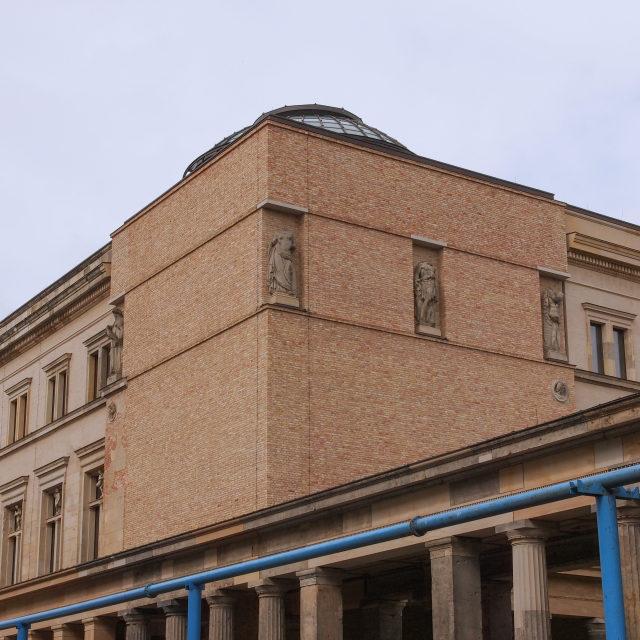 """Neues Museum"" stock image"