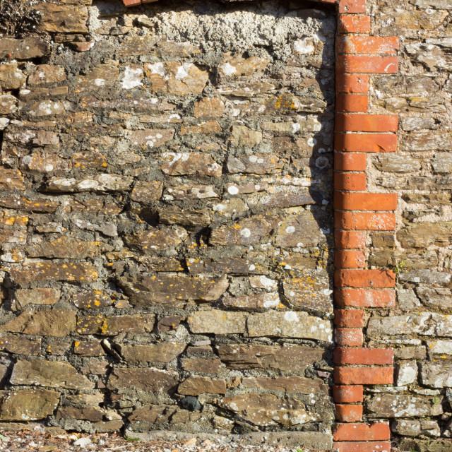"""""""Bucklawren doorway"""" stock image"""