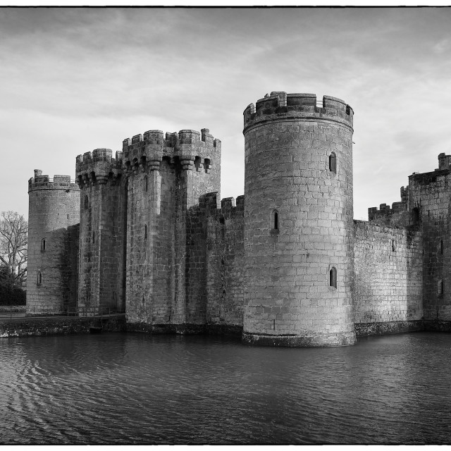 """Bodiam Castle"" stock image"