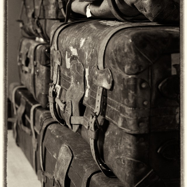 """Antique Luggage"" stock image"