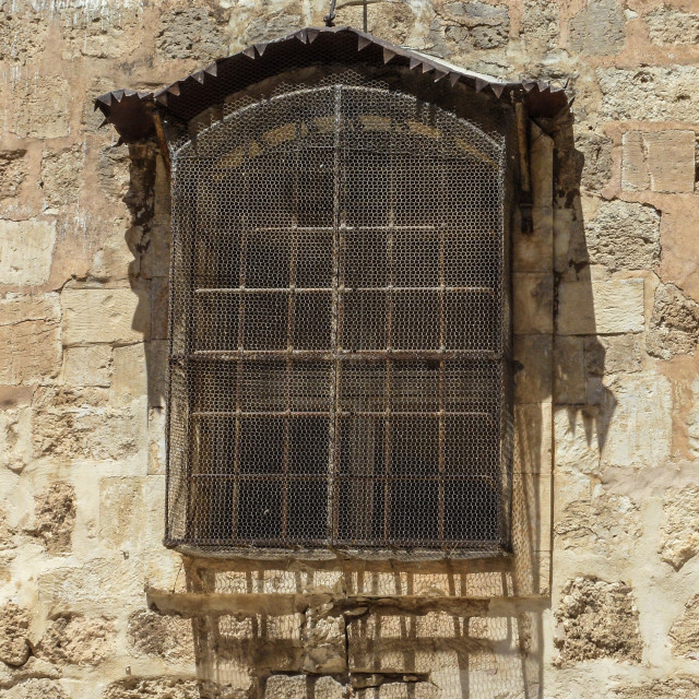 """Old Window"" stock image"