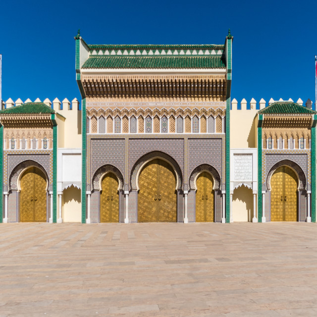 """Royal Palace"" stock image"
