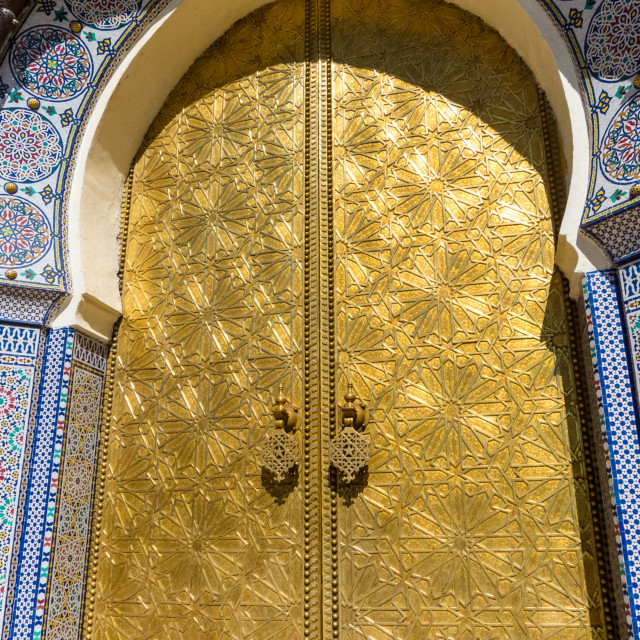 """Golden Door"" stock image"
