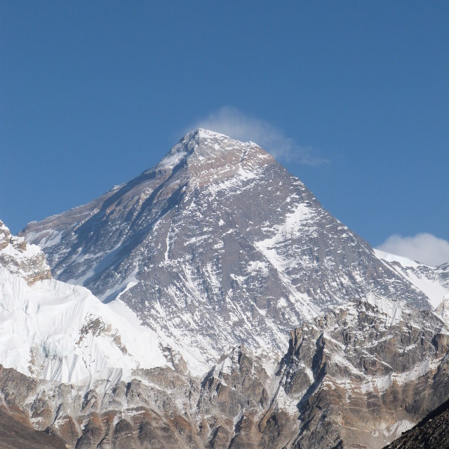 """""""Mighty Mount Everest"""" stock image"""