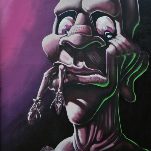 """street art graffiti"" stock image"