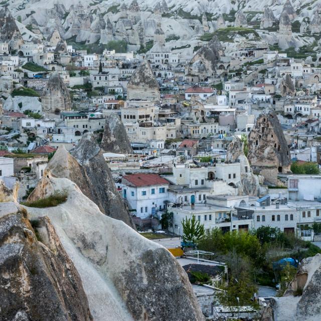 """Göreme in Cappadocia"" stock image"